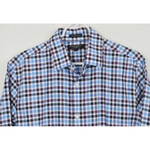 Banana Republic Medium Shirt Button Down Plaid